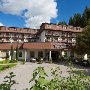 10% Frühbucherbonus im Alpenhotel Weitlanbrunn ****