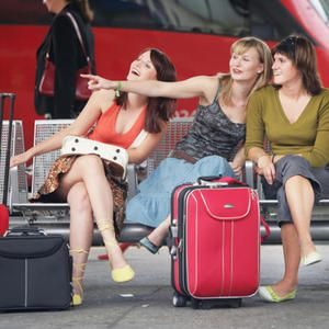 Sommer findet Stadt - Bahnfahrt 2. Klasse