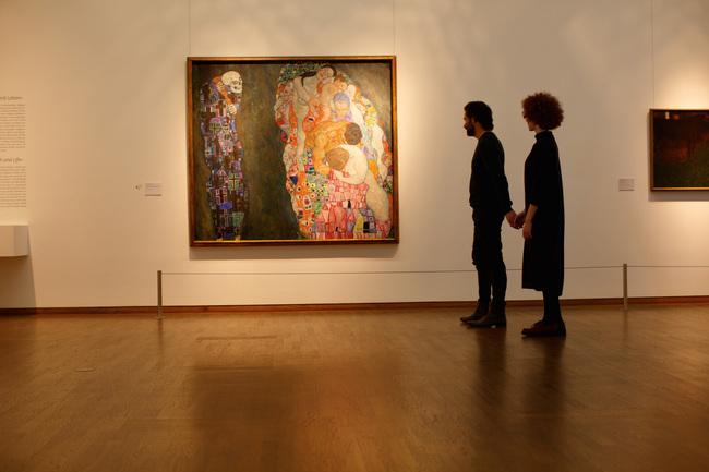 Klimt Sammlung im Leopold Museum Wien / Meister der Moderne
