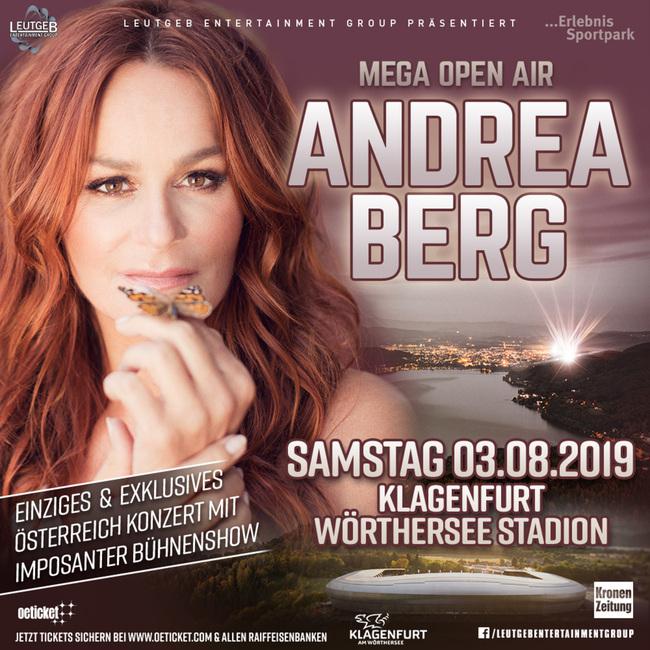 Andrea Berg im Wörtherseestadion 2019