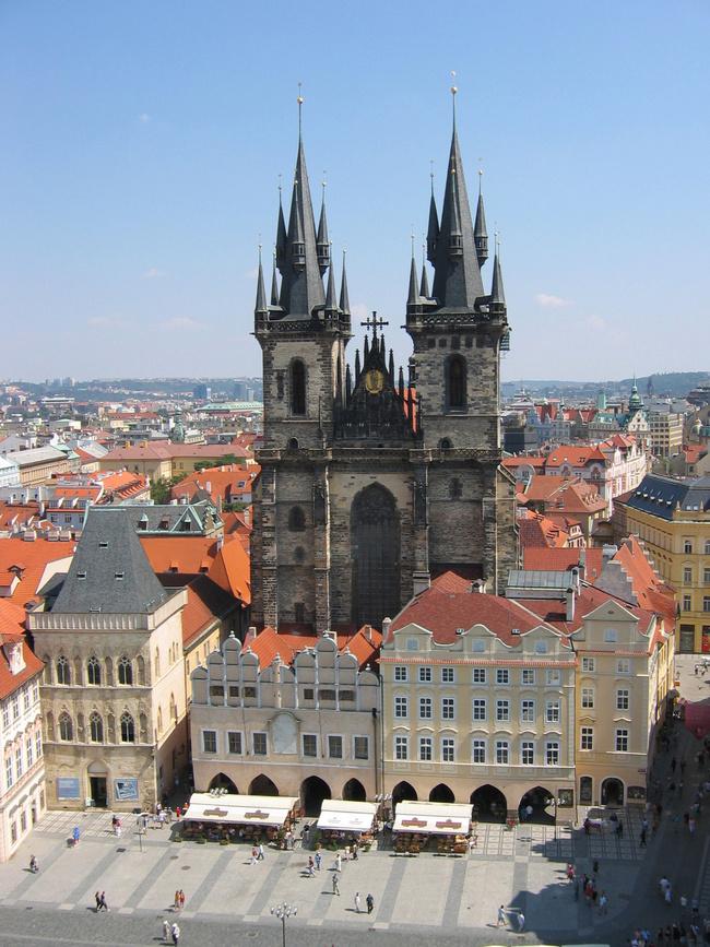 Teynkirche, Altstädter Ring / Prag in Kürze