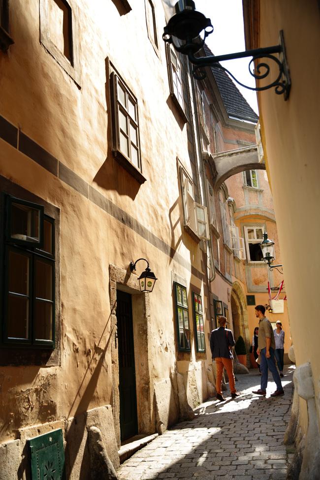 Flanieren in der Altstadt / Wiener Stadtspaziergang - Verschlungene Pfade