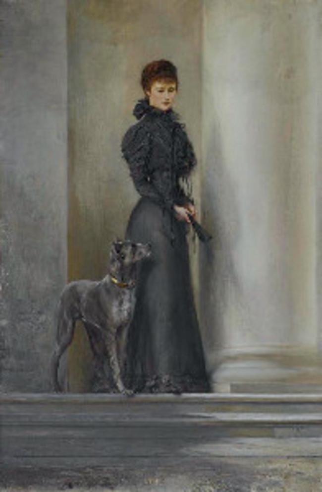 Elisabeth mit Dogge / Sisi Ticket