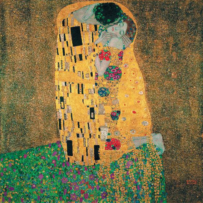 Gustav Klimt, der Kuss / Das Schloss Belvedere
