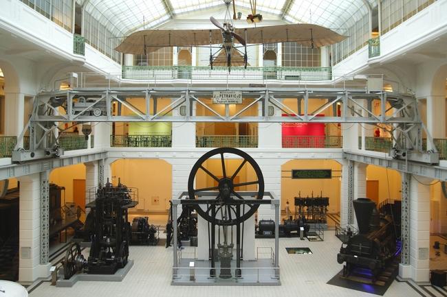 Technisches Museum, Mittelhalle / Technisches Museum Wien