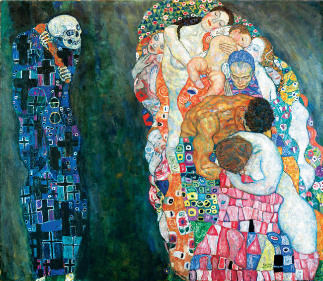Klimt, Tod und Leben / LEOPOLD MUSEUM - MuseumsQuartier Wien