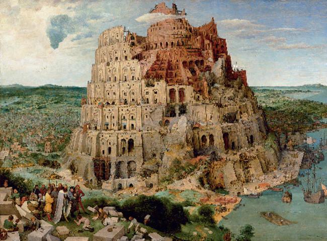 Turmbau zu Babel, Pieter Bruegel d.Ä. / Kunsthistorisches Museum Wien