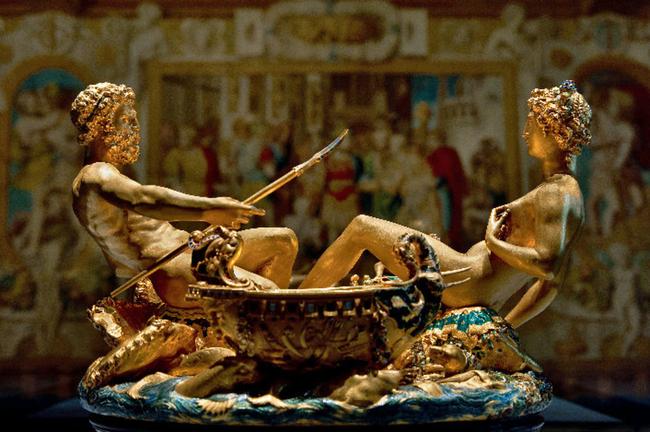 Saliera von Benvenuto Celini / Kunsthistorisches Museum Wien