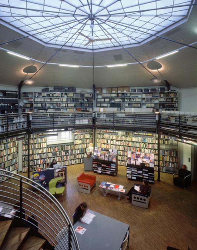 AzW Bibliothek / Architekturzentrum Wien - Az W