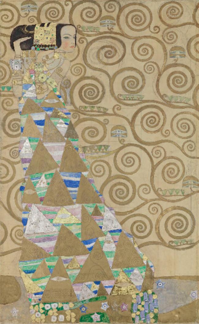 Klimt, Entwurfzeichnung, Palais Stoclet / MAK - Österreichisches Museum für angewandte Kunst