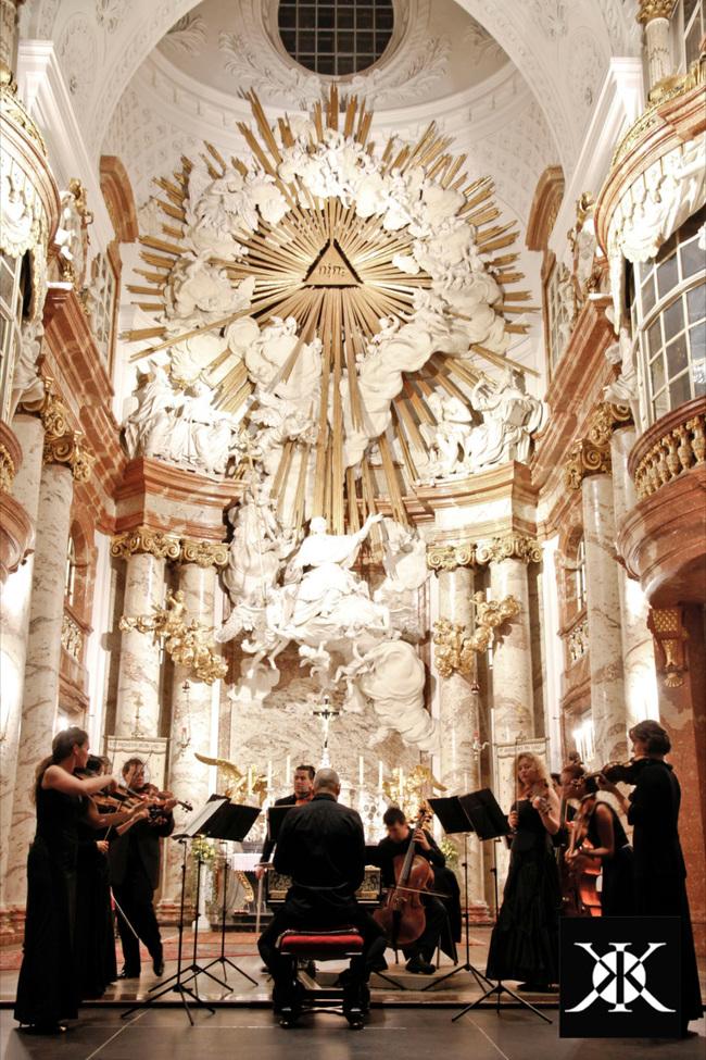 Mozart Requiem in der Karlskirche