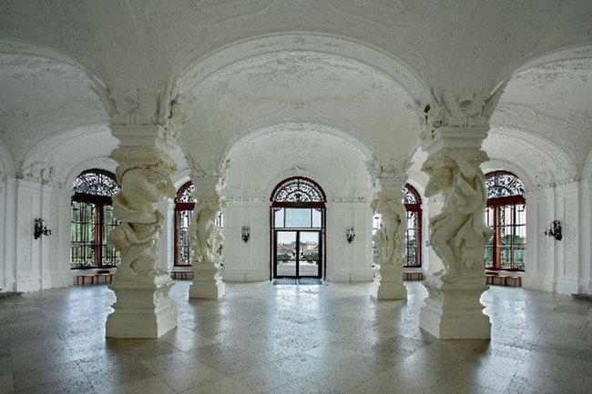 Sala terrena / Das Schloss Belvedere