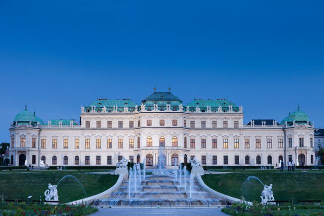 Oberes Belvedere / Das Schloss Belvedere
