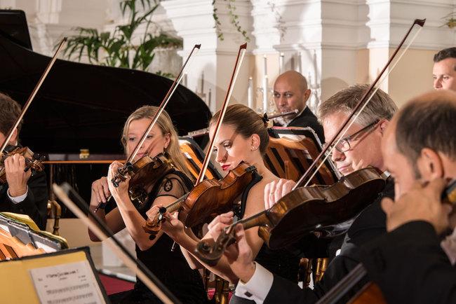 Orchestra Violins / Strauss & Mozart Konzerte im Kursalon Wien