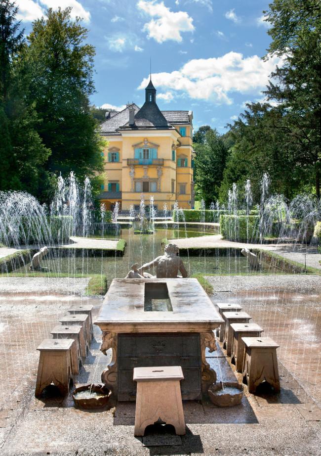 Hellbrunn. Lustschloss zu Salzburg