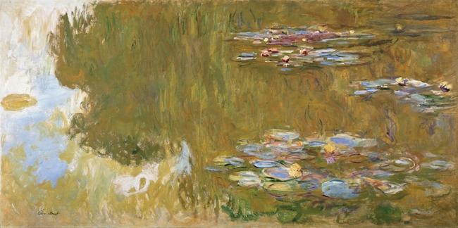 Claude Monet , Seerosenteich / Albertina