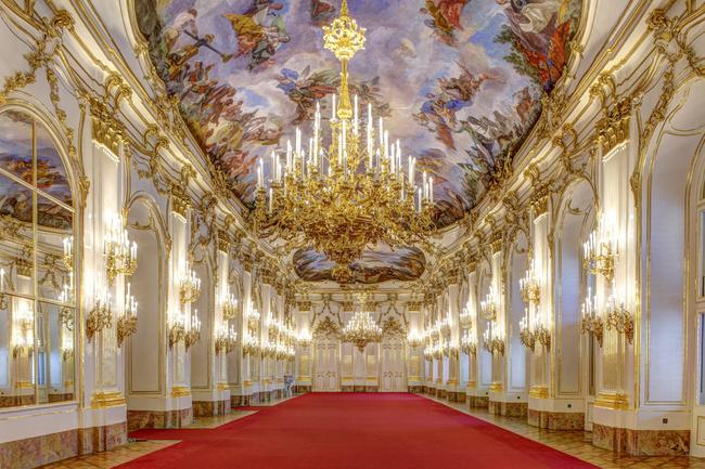 Große Galerie in Schönbrunn / Schloß Schönbrunn