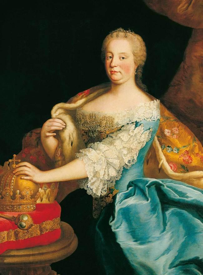 Maria Theresia als Königin von Ungarn, Martin van Meytens um 1750-1755 / 300 Jahre Maria Theresia