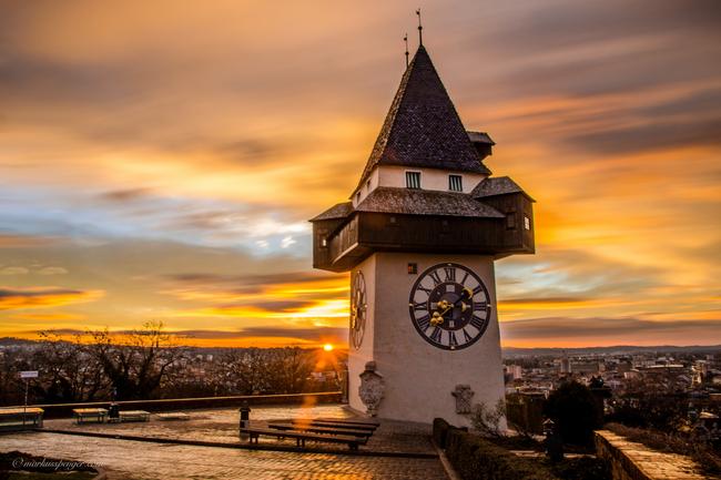 Uhrturm / Schlossbergrundgang