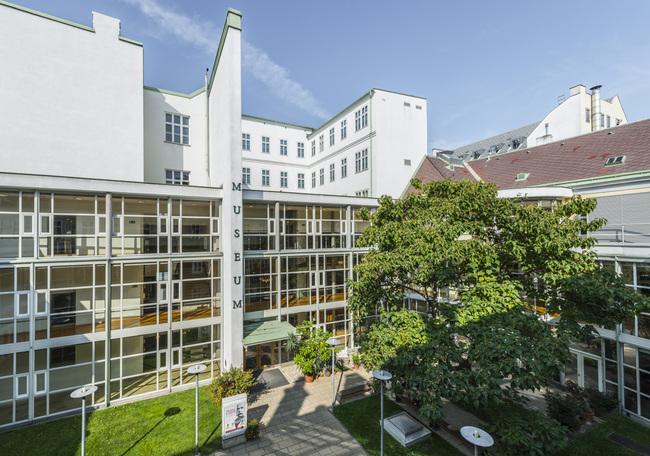Hofmobiliendepot, Innenhof / Hofmobiliendepot • Möbel Museum Wien
